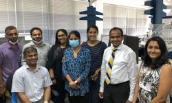 Scientists at the Centre for Dengue Research at the University of Sri Jayewardenepura, Sequence SARS-CoV2 Viruses in Sri Lanka