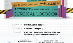 How to Create Your Own Mobile App for Accurate Maintenance of the Surgical Logbook